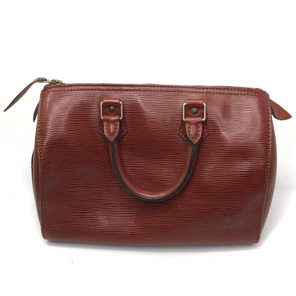Louis Vuitton Handbags - Louis Vuitton Epi Speedy 25 Chestnut Brown Vintage